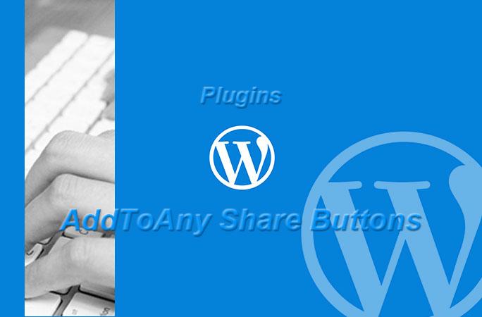 【WordPress】SNSボタンを設置するプラグイン「AddToAny Share Buttons」